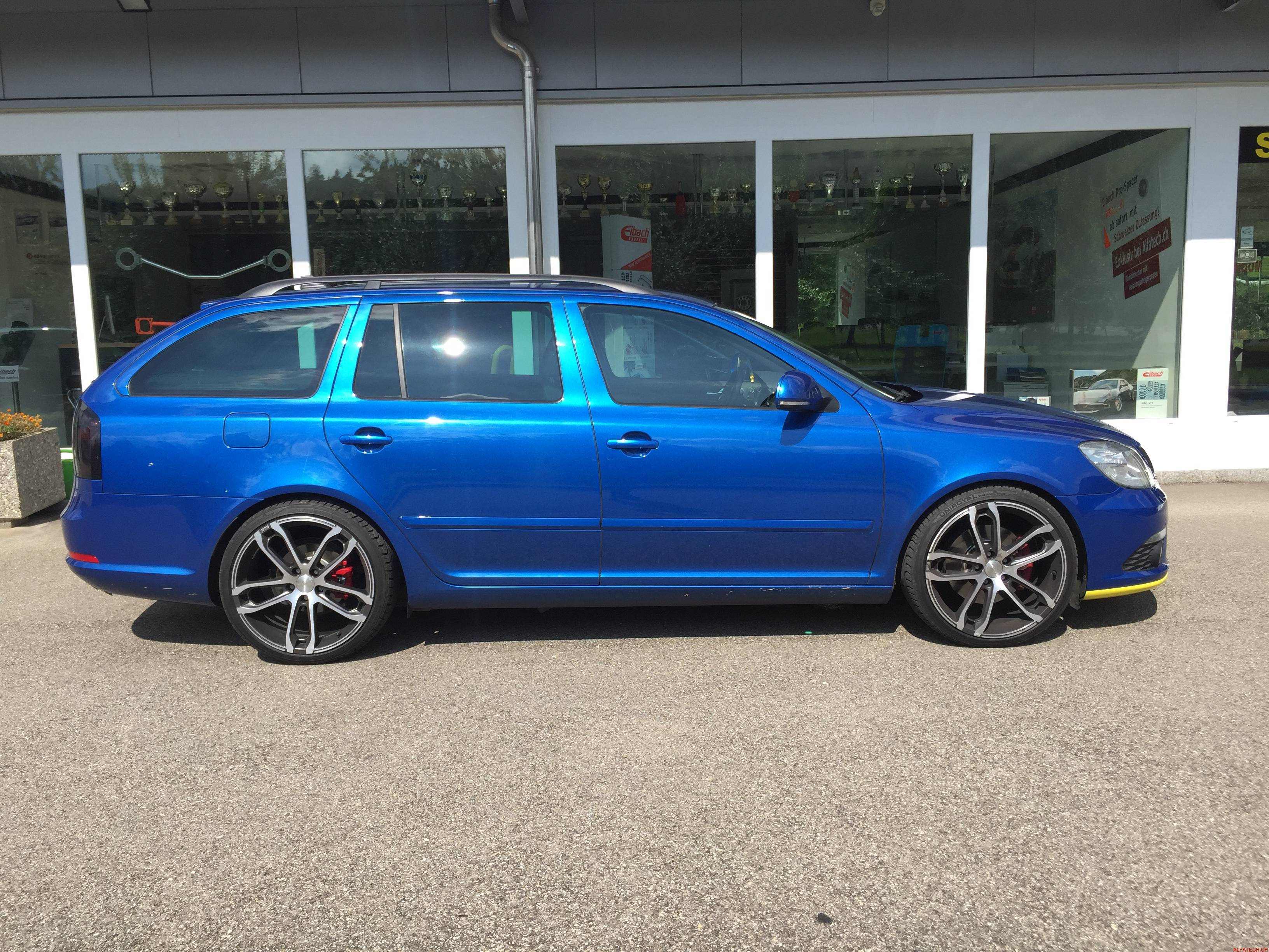 Skoda Octavia Combi (1Z5) 2.0 RS (200 PS)