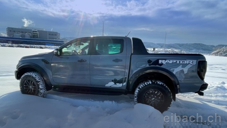 Ford Ranger Raptor Höherlegung