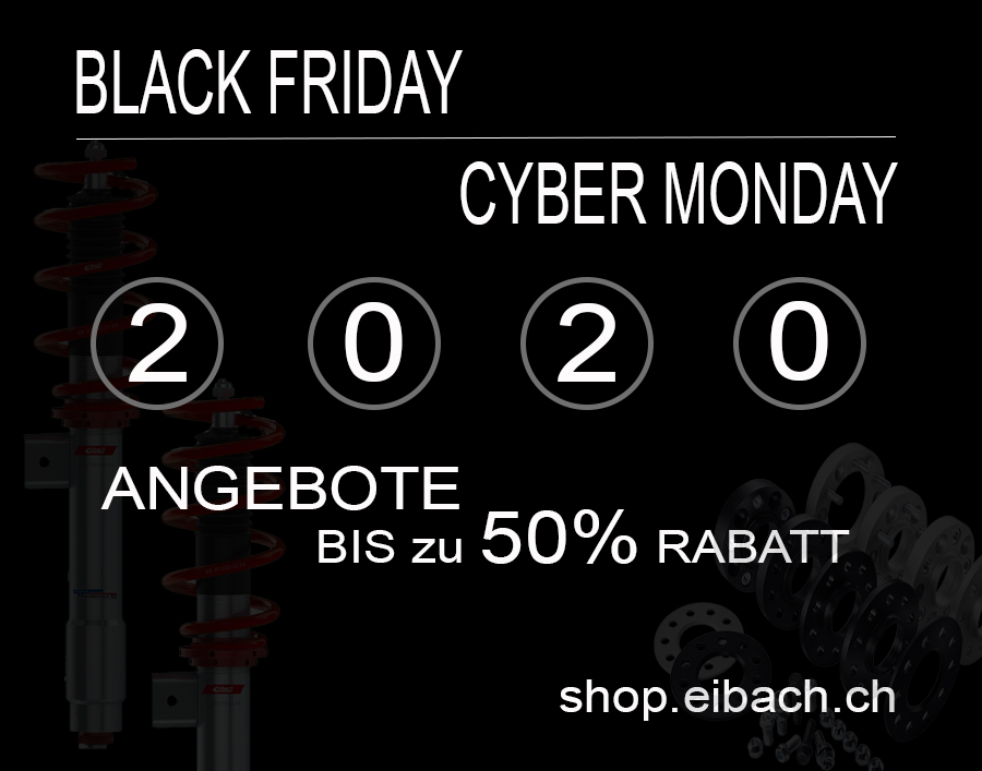 Black-Weekend & Cyber Monday 2020